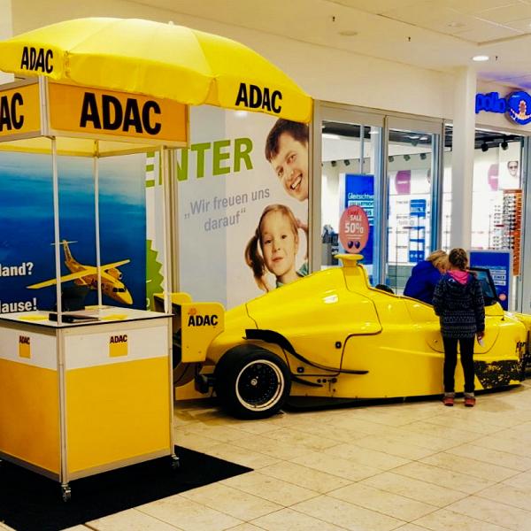 Fahrsimulator ADAC Vertriebsagentur Novosel