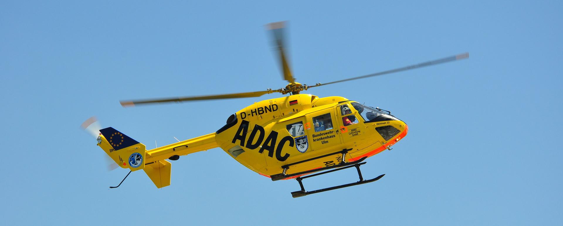 Rettungshubschrauber der ADAC Vertriebsagentur Novosel GmbH