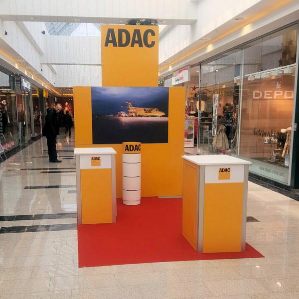 Pos-Stand der ADAC Vertriebsagentur Novosel GmbH